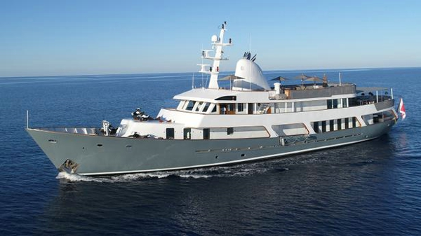 Classic motor yacht Menorca listed for sale