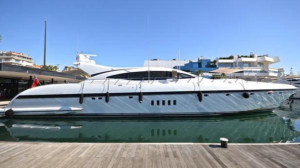 Price drop on Mangusta motor yacht Eol