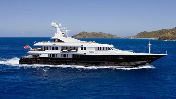 Price drop on Oceanco motor yacht Helios