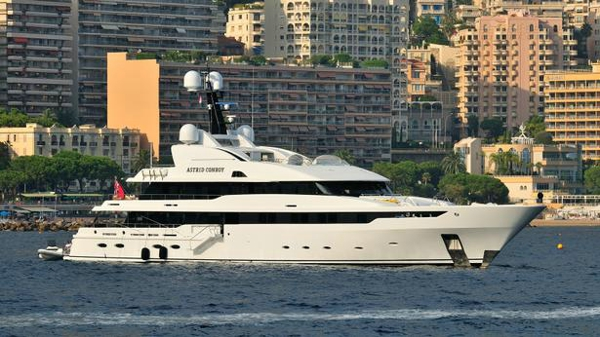 Amels motor yacht Astrid Conroy listed for sale