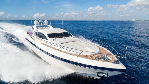 Further price cut on Mangusta motor yacht Kampai