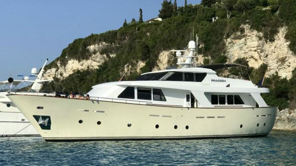 Benetti Sail Division motor yacht Phaedra I back on the market