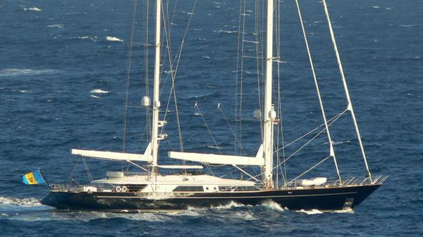 Perini Navi sailing yacht Selene back on the market