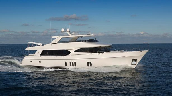 New Ocean Alexander motor yacht sold and named Drinkability