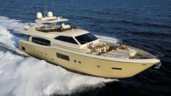 Ferretti Altura 840 motor yacht sold and named Seven Diamonds