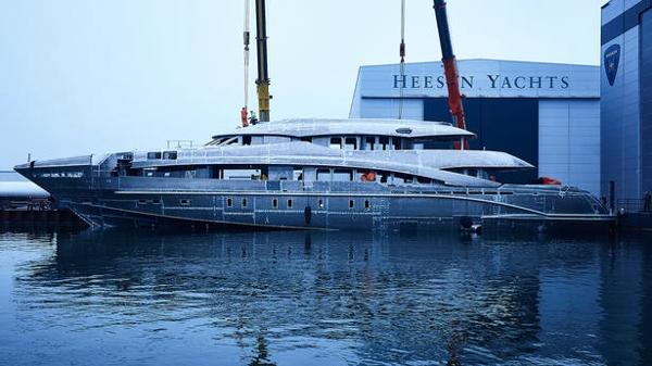 New-build Heesen motor yacht Project Ayla sold
