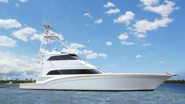 Further price drop on sportfish motor yacht Black Shadow