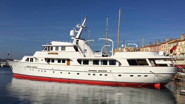 Classic Feadship motor yacht Seagull of Cayman back on the market