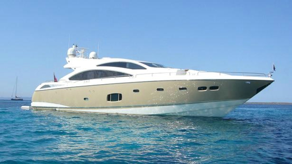 Sunseeker motor yacht Robusto back on the market