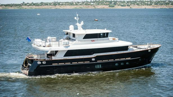 Fifth Ocean motor yacht Destiny now for sale with bluewater