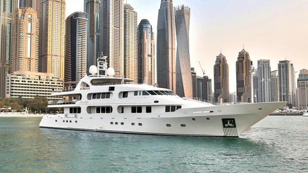 Benetti motor yacht Moonlight for sale