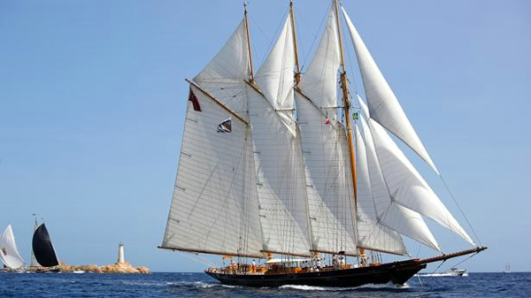 Classic sailing yacht Shenadoah of Sark now for sale with Fraser