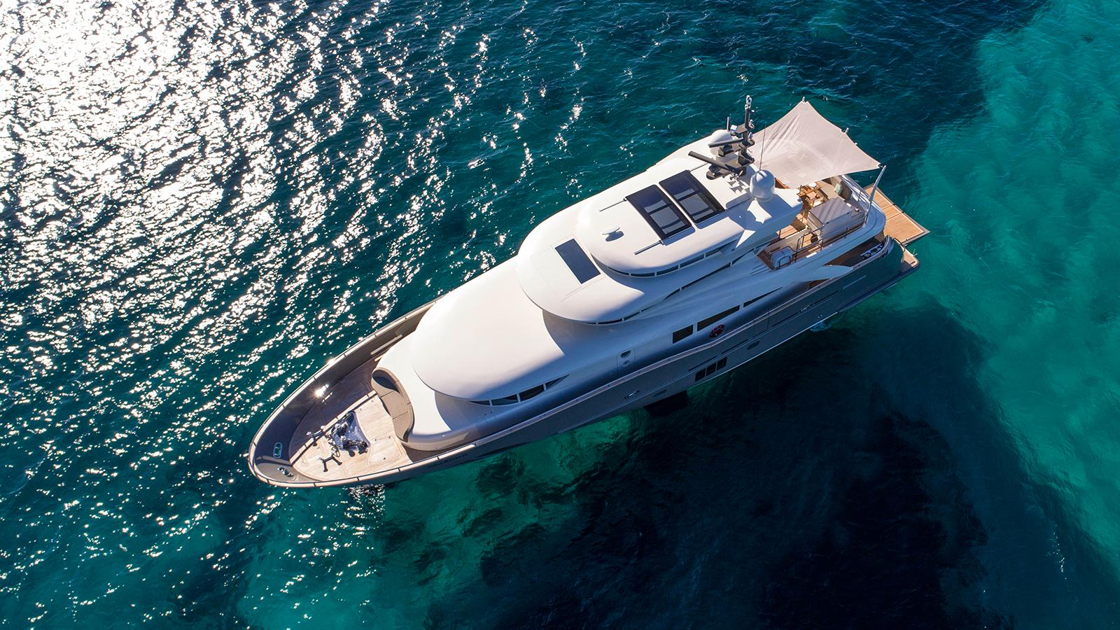 The highly personal 26m yacht from Filippetti