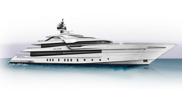 Heesen's Superyacht Project Falcon Soars