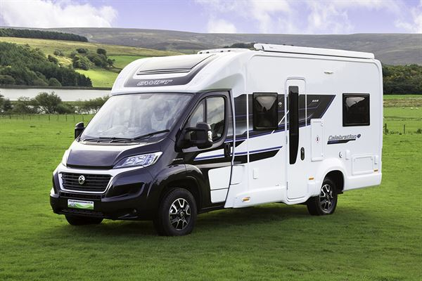 Glossop Caravans launches the Swift Celebration
