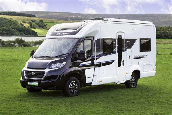 Glossop Caravans launches the Swift Celebration