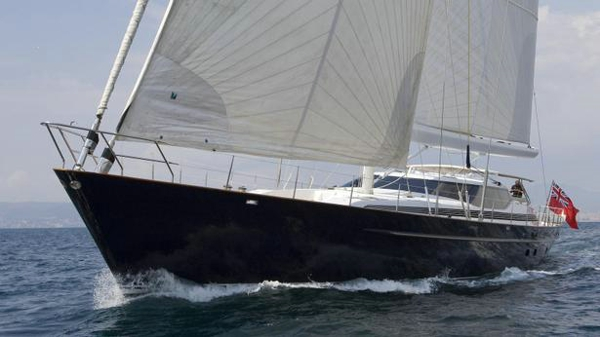 Alloy sailing yacht Sovereign for sale