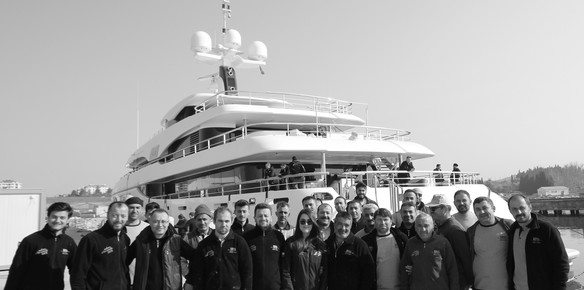 Refit of Benetti Giant 65m Rahil by KRM