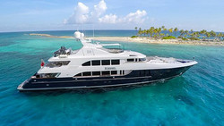 Charter discount on motor yacht Rebel in the Caribbean