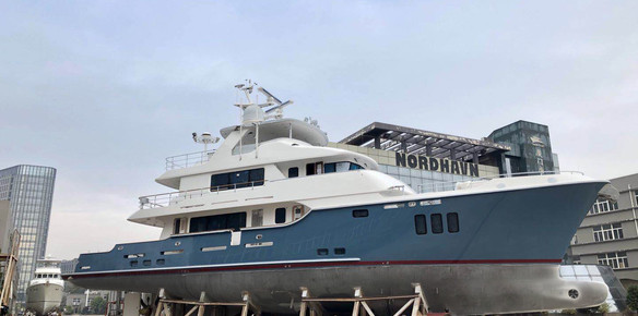 PAE Announce Delivery of Nordhavn 100 Serenity