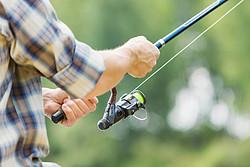 Women spend money on bags, men spend money on fishing